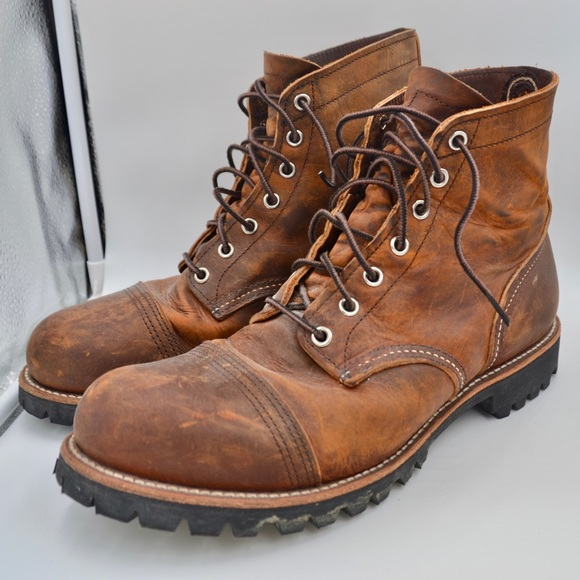 Red Wing Iron Ranger Boots Brooks